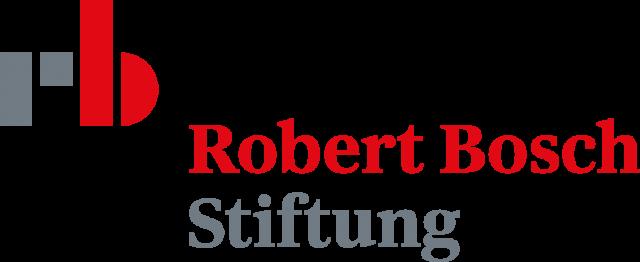 Logo von 'Robert Bosch Stiftung'