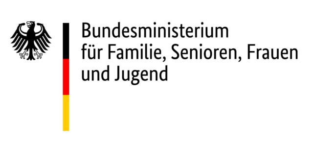 Logo von 'Bundesministerium für Familie, Senioren, Frauen und Jugend'