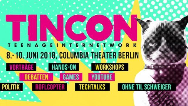 Vorschaubild zur Session 'TINCON Berlin 2018'