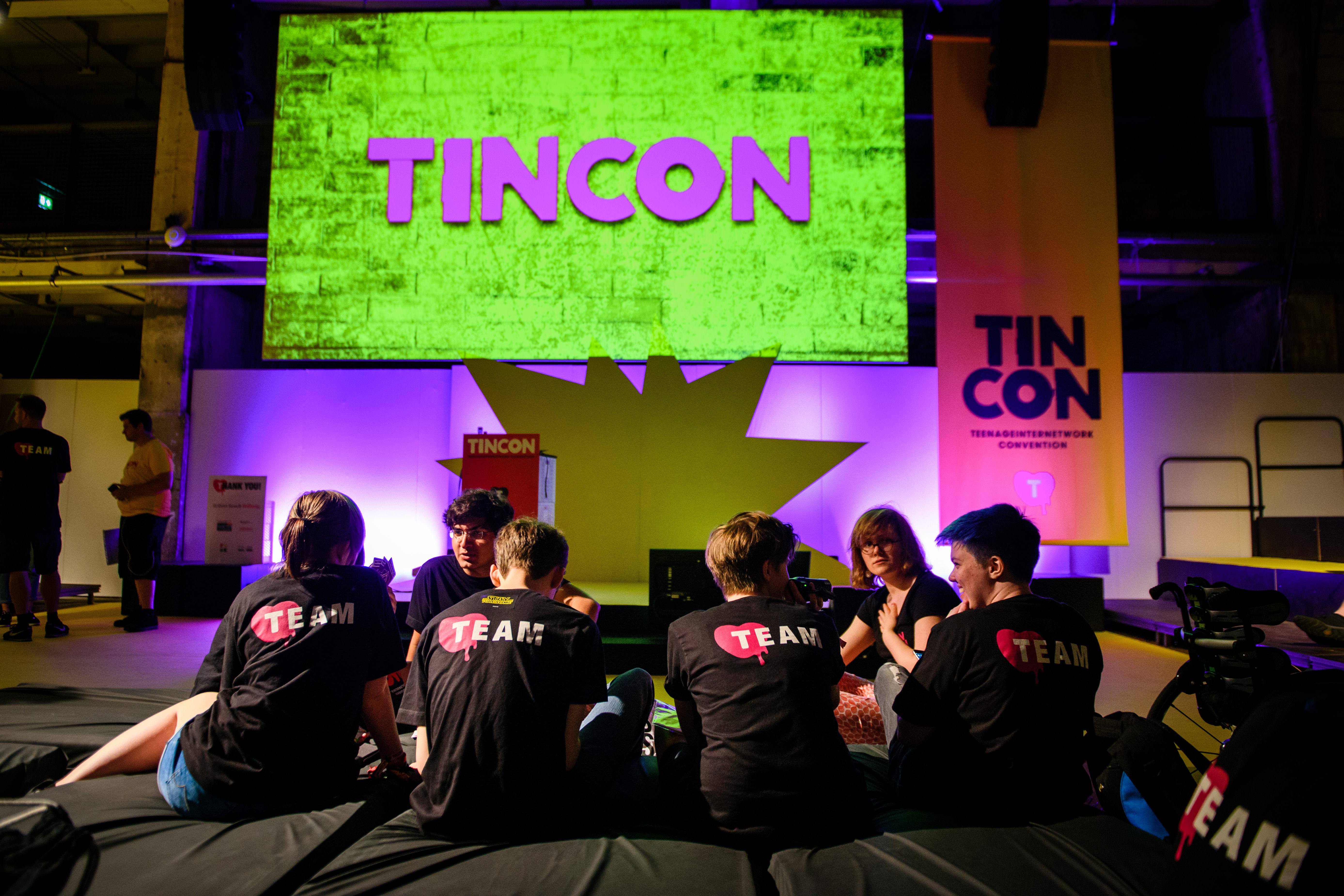 Teile des TINCON-Teams auf der TINCON Berlin 2017