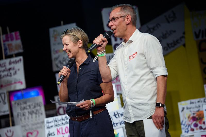 Tanja und Johnny Hauesler, Gründer der TINCON
