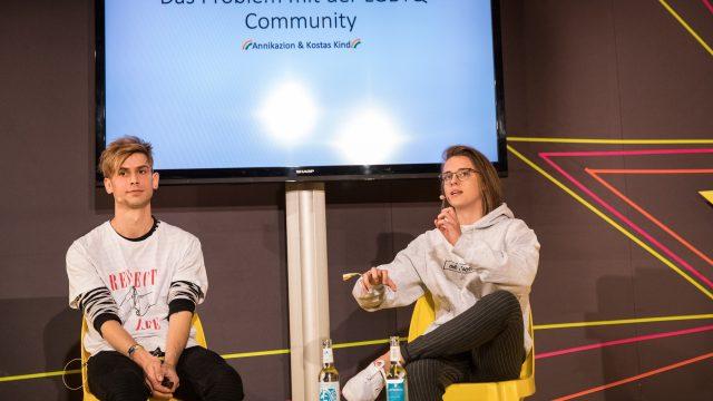 Vorschaubild zur Session 'Das Problem mit der LGBTQ+ Community'