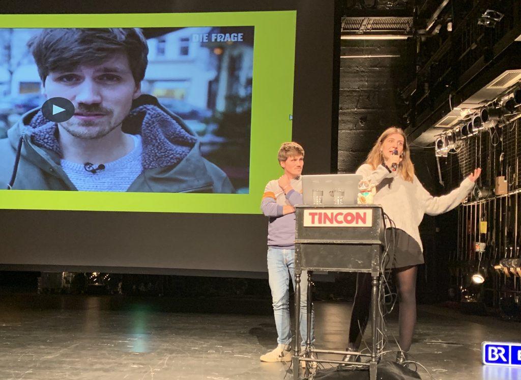 Frank Seibert, Samira Schütz. Foto: TINCON