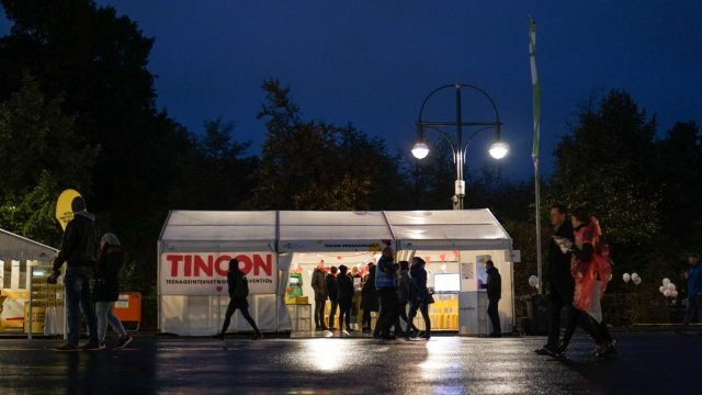 TINCON - teenageinternetwork convention - Programmzelt beim Fest zum Tag der Deutschen Einheit in Berlin1. - 3.10.2018