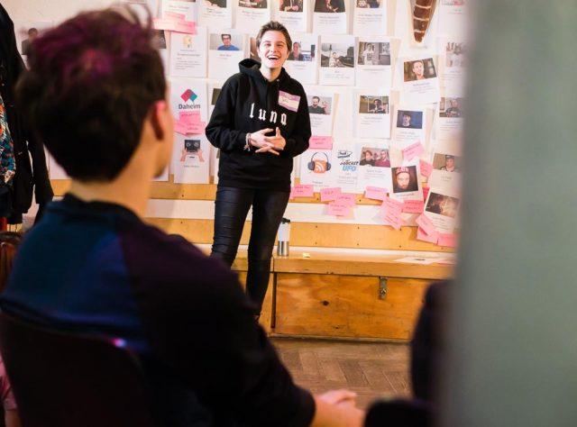TINCON Programmworkshop 2017: zwei Tage intensiver Austausch, endlose Diskussionen und unendlich viele Ideen.Zeitraum: 21.-22. Januar 2017