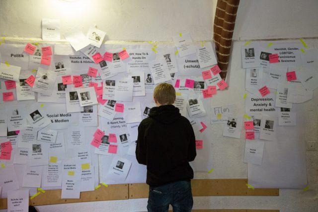 TINCON Programmworkshop 2018: zwei Tage intensiver Austausch, endlose Diskussionen und unendlich viele Ideen.Zeitraum: 27.-28. Januar 2018