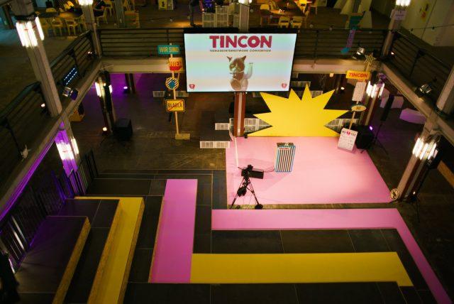 TINCON - teenageinternetwork convention - Das Festival für digitale Jugendkultur, die Gesellschaftskonferenz für Jugendliche von 13 bis 21 Jahren am 08. Mai 2019 im STATION Berlin. Main Stage K1.