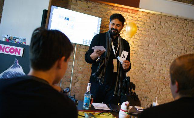 TINCON - teenageinternetwork convention - Das Festival für digitale Jugendkultur, die Gesellschaftskonferenz für Jugendliche von 13 bis 21 Jahren am 08. Mai 2019 im STATION Berlin. Speaker: Saad ChinoySession: Augmented Reality - Making Paper Gifs for Storytelling
