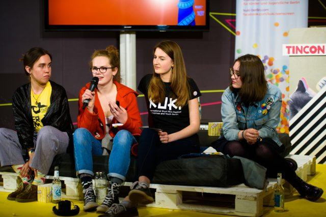 TINCON - teenageinternetwork convention - Das Festival für digitale Jugendkultur, die Gesellschaftskonferenz für Jugendliche von 13 bis 21 Jahren am 07. Mai 2019 im STATION Berlin. Speaker: Gitls* Riot!Session: Kurzfilme & Talk