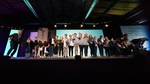 TINCON - teenageinternetwork convention - Das Festival für digitale Jugendkultur, die Gesellschaftskonferenz für Jugendliche von 13 bis 21 Jahren am 08. Mai 2019 im STATION Berlin. Session: Re:publica closing event