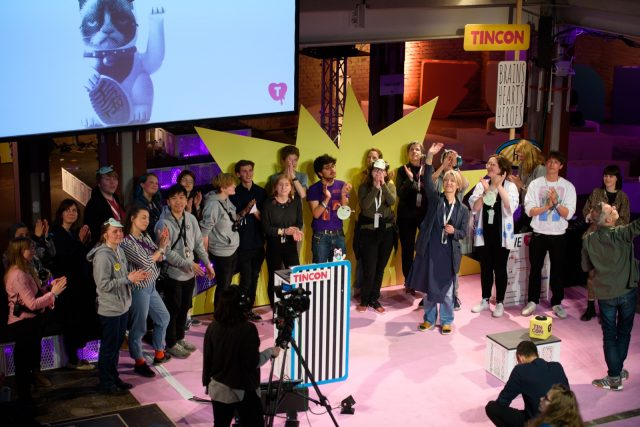TINCON - teenageinternetwork convention - Das Festival für digitale Jugendkultur, die Gesellschaftskonferenz für Jugendliche von 13 bis 21 Jahren am 08. Mai 2019 im STATION Berlin. Session: Closing Event
