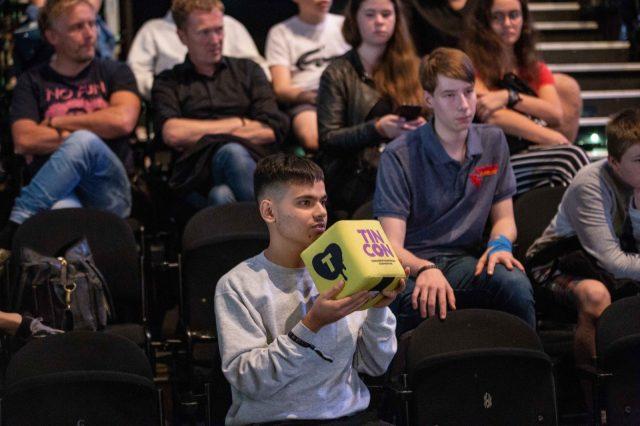 TINCON - teenageinternetwork convention - Das Festival für digitale Jugendkultur, die Gesellschaftskonferenz für Jugendliche von 13 bis 21 Jahren am 19. September 2017 auf Kampnagel in Hamburg.Speaker: Rayk Anders, Patrick StegemannSession: \\\