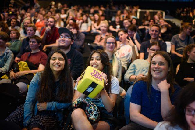 TINCON - teenageinternetwork convention - Das Festival für digitale Jugendkultur, die Gesellschaftskonferenz für Jugendliche von 13 bis 21 Jahren am 19. September 2017 auf Kampnagel in Hamburg.Speaker: Liberiarium & ColdmirrorSession: Fanfiction als kreatives Gedankenchanneling