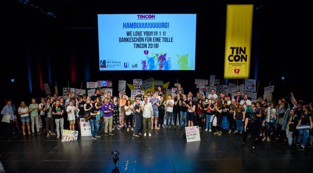 TINCON - teenageinternetwork convention - Das Festival für digitale Jugendkultur, die Gesellschaftskonferenz für Jugendliche von 13 bis 21 Jahren am 19. September 2017 auf Kampnagel in Hamburg.Session: Finale und Abschluss