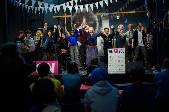 TINCON - teenageinternetwork convention - Das Festival für digitale Jugendkultur, die Gesellschaftskonferenz für Jugendliche von 13 bis 21 Jahren am 20. September 2019 auf Kampnagel in Hamburg.Session: Closing
