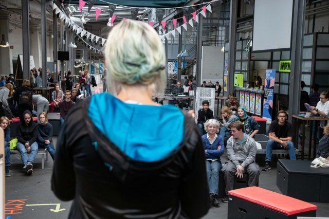 TINCON - teenageinternetwork convention - Das Festival für digitale Jugendkultur, die Gesellschaftskonferenz für Jugendliche von 13 bis 21 Jahren am 20. September 2019 auf Kampnagel in Hamburg.Speaker: Tabea GlindemannSession: FragDenStaat: Hacken: {k}ein Haecksenwerk.