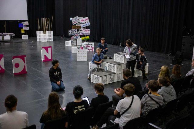 TINCON - teenageinternetwork convention - Das Festival für digitale Jugendkultur, die Gesellschaftskonferenz für Jugendliche von 13 bis 21 Jahren am 19. September 2019 auf Kampnagel in Hamburg.