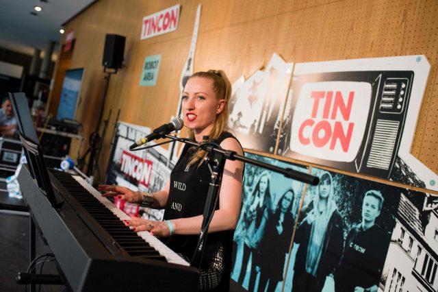 Am 28.05.2016 der TINCON im Haus der Berliner Festspiele in Berlin. – Das erste Festival für digitale Jugendkultur \\\\\\\