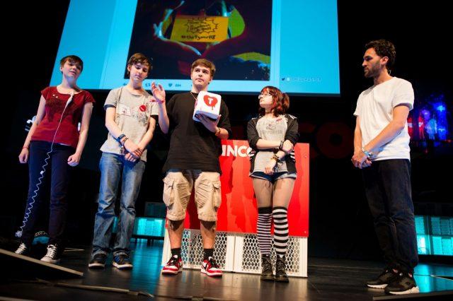 Abschlussveranstaltung der TINCON am 29.05.2016 im Haus der Berliner Festspiele in Berlin. – Das erste Festival für digitale Jugendkultur \\\\\\\