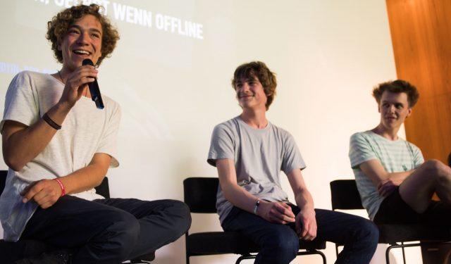 Simon Frey, Jonathan Funke, Juliet Reichert spricht am 29.05.2016 auf der TINCON im Haus der Berliner Festspiele in Berlin. – Das erste Festival für digitale Jugendkultur \\\\\\\