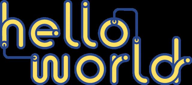Logo von 'Hello World'