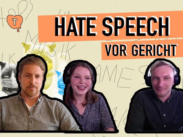 Vorschaubild zur Session 'Hate Speech vor Gericht bringen'