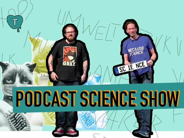 Vorschaubild zur Session 'Podcast Science Show: Spektakulär und methodisch (in)korrekt'