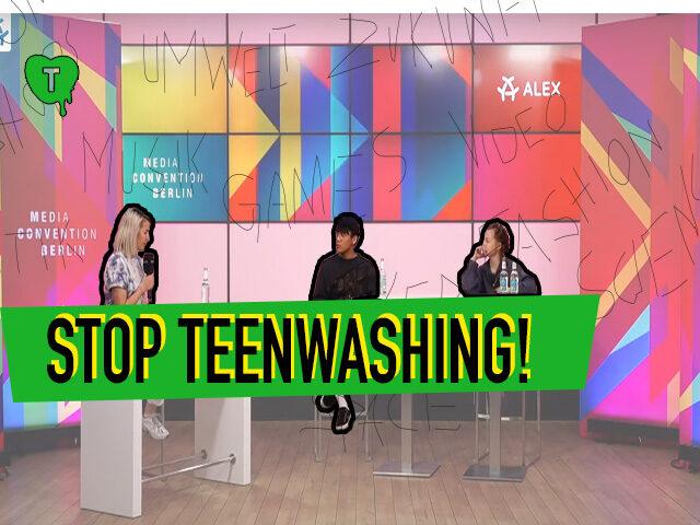 Vorschaubild zur Session 'Stop Teenwashing!'