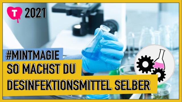Vorschaubild zur Session 'Desinfektionsmittel selber machen'