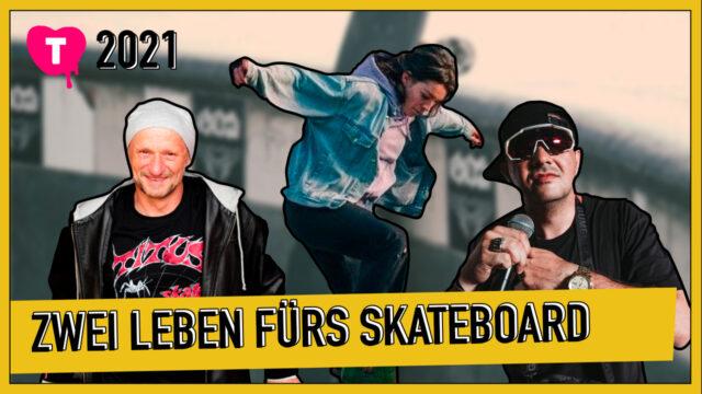Vorschaubild zur Session 'Onboarding - Zwei Leben fürs Skateboard'